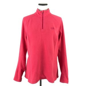 The North Face Zip Pullover Fleece Sweater #106